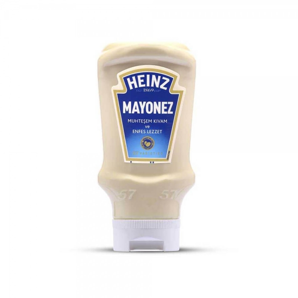 Heinz Mayonez Top Down