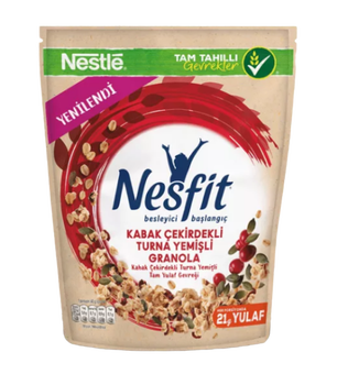 Nestle - Nesfit Granola Cranberry Bag Cer