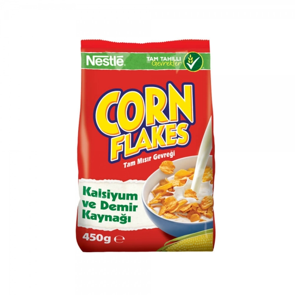 Nestle Corn Flakes Cereal Bag 450 g